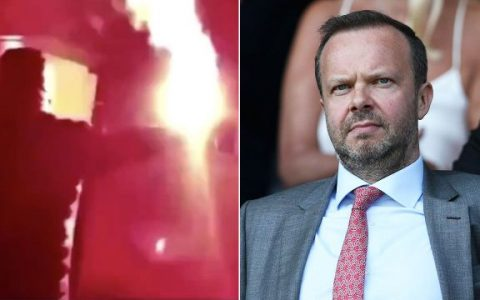Fans Attack Ed Woodward's Home