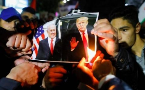 Palestinian Reject Trump's Middle East Plan