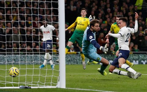 Spurs Beat Norwich City