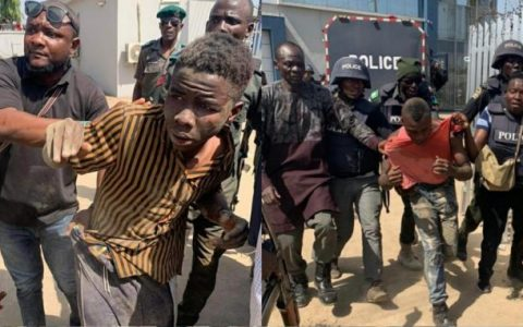 Bank Robbers In Abuja