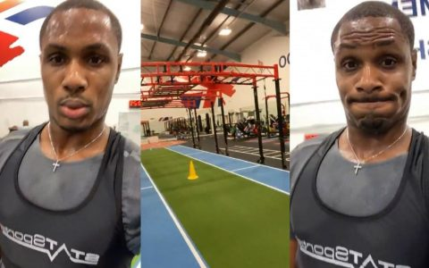 Ighalo In Training