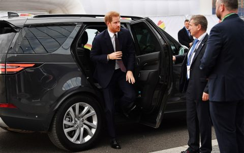 Prince Harry Back In The UK
