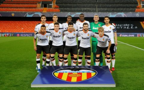 Five Valencia Players Tested Positive