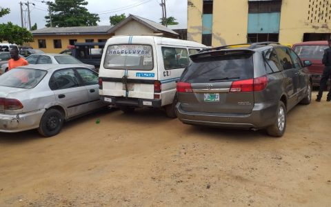 Impounded vehicles