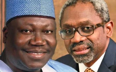 Lawan with Gbajabiamila