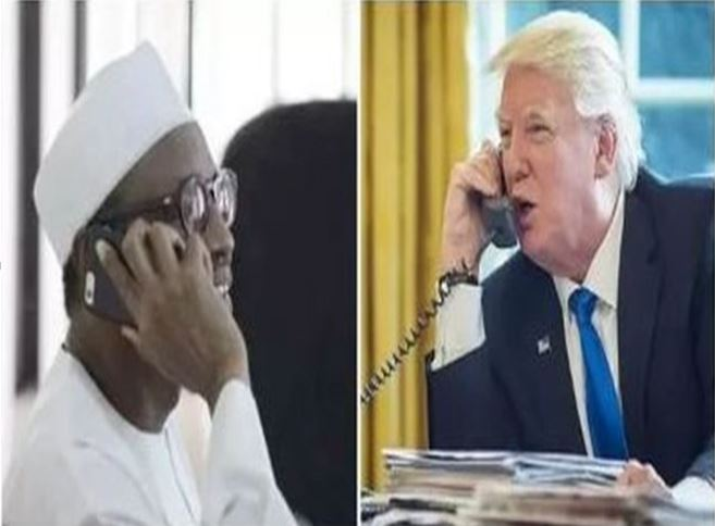 Trump In Conversation With Buhari