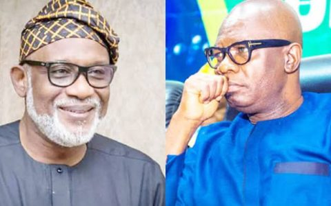 Akeredolu and Ajayi
