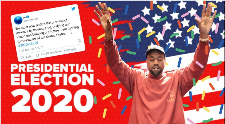 Kanye Reaffirms Intention