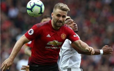 Luke Shaw Out