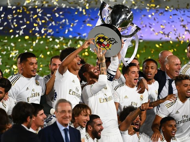 Real Madrid Crowned Champions