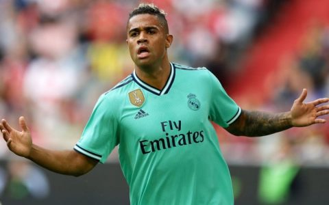 Real Madrid Forward, Mariano Diaz