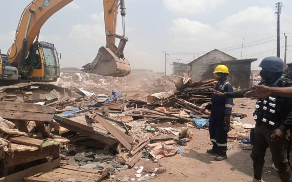 Demolition In Abuja