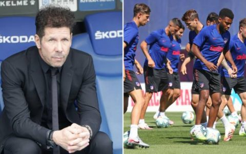 Two Atletico Madrid Players Test Positive