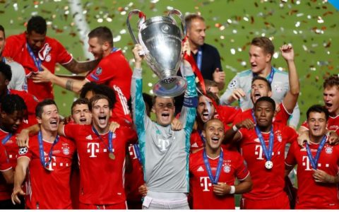 Bayern Win Champions League