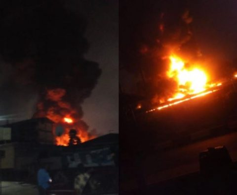 Fire At Ogba