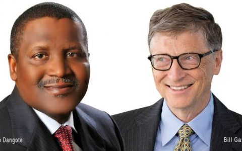 Bill Gates, Aliko Dangote