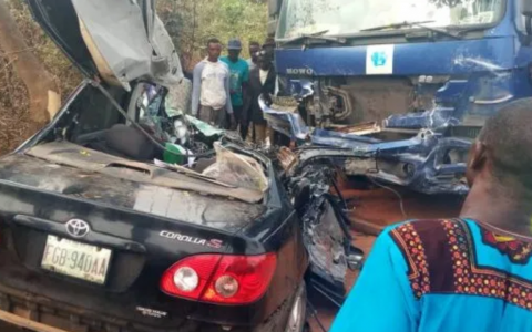 Ogun Auto Crash