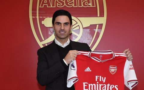 Mikel Arteta Appointed As Manager