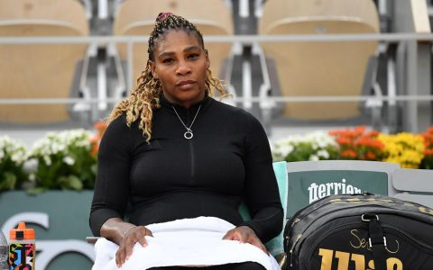 Serena Williams Out