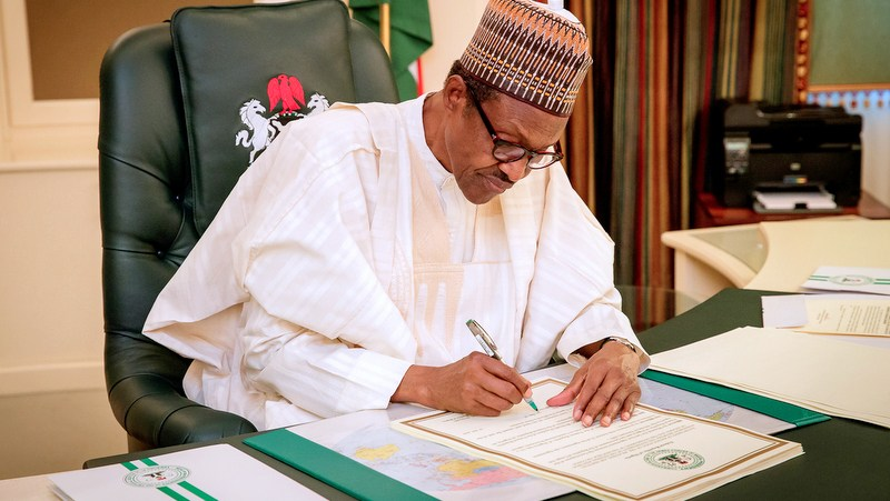Buhari Approves 2021 Budget
