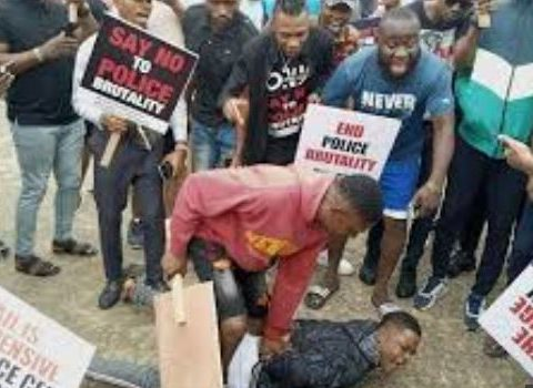 Protesters Attacked