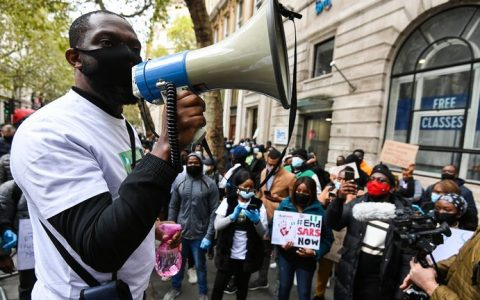 EndSARS Protest In London