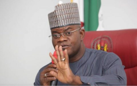 Gov. Yahaya Bello of Kogi