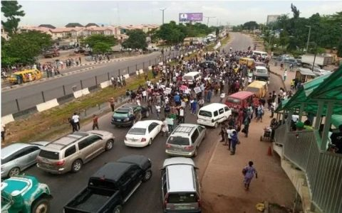 Lagos-Ibadan Blocked