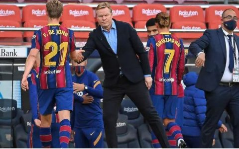 Koeman Speaks After Madrid Beat Barcelona