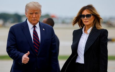 President Donald Trump and Wife Melania