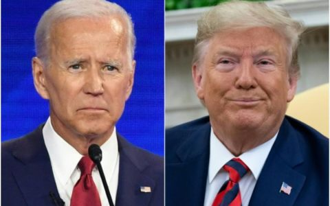 Dona;d Trump and Joe Biden