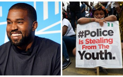 Kanye West Supports End Sars Protest