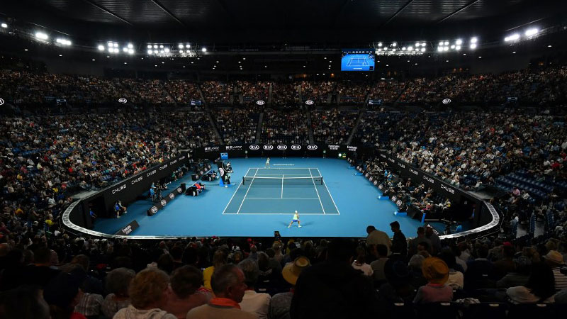 Two Australian Open Players Test Positive
