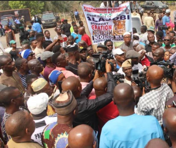 Ondo Farmers, Forest Guards, Drivers Support Akeredolu