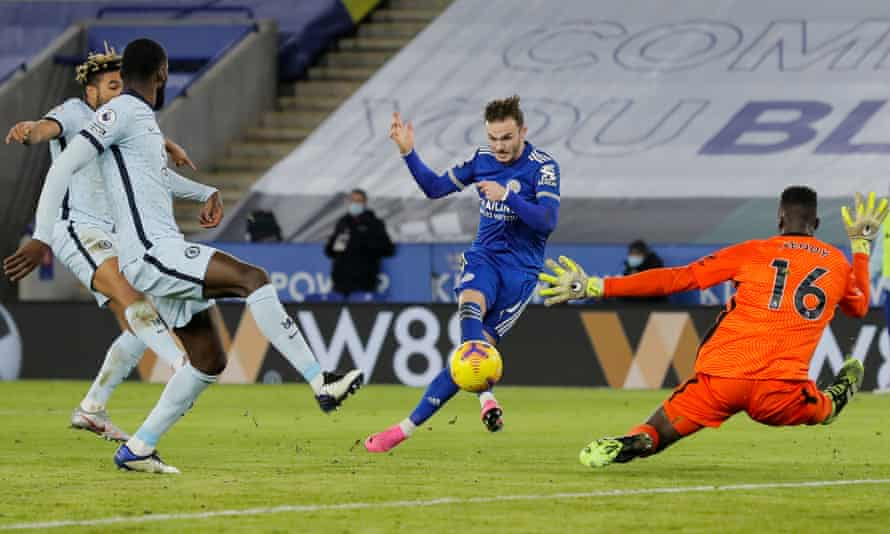Leicester Beat Chelsea 2-0