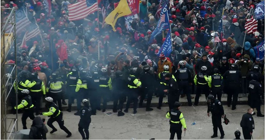 Police Dies In Capitol Riot