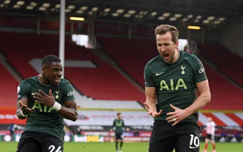 Tottenham Beat Sheffield Utd