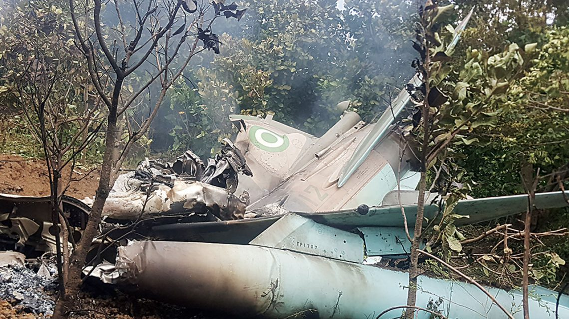 Air Force Jet Crashes In Abuja