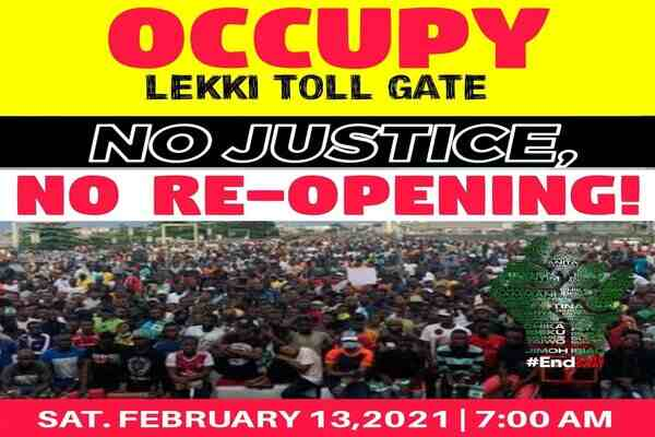 Lekki Toll Gate Re-opening