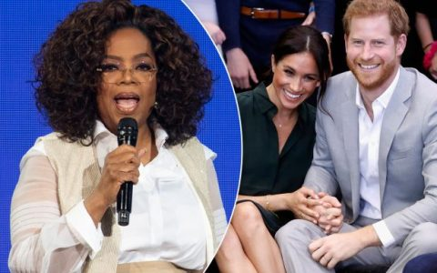 Oprah Winfrey, Harry and Meghan