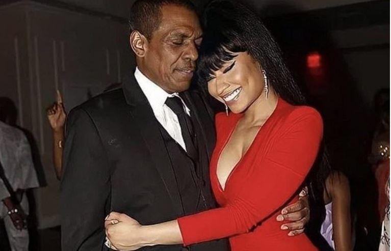 Popular Rapper, Nicki Minaj and Father