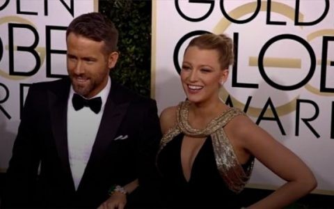 Ryan Reynolds and Blake