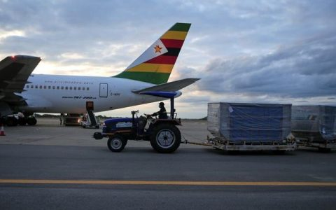 Zimbabwe Receives Covid-19
