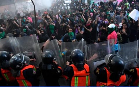 International Women's Day Protest In Mexico