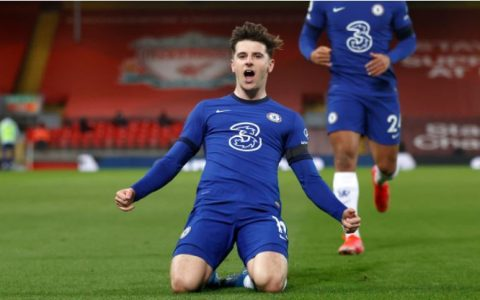 Mason Mount Scores In Chelsea Win Against Liverpool