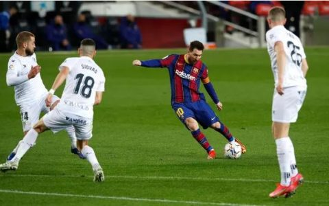 Messi Breaks Xaxi''s Record