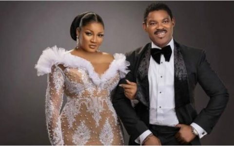 Omotola Jalade Ekeinde Celebrates Wedding Anniversary With Her Husband