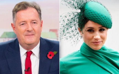 Piers Morgan and Meghan