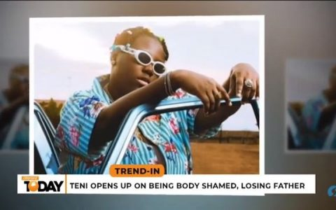 Teni Opens Up About Body Shaming