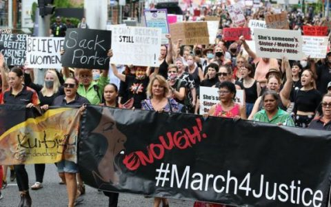 Thousands Of Protesters March For Justice